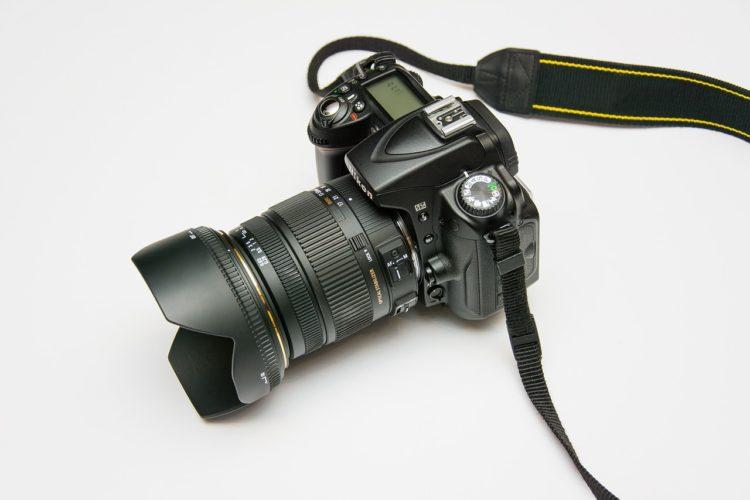 anbefal et spejlreflekskamera